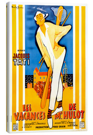 Canvas print  Mr. Hulot's Holiday