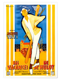 Premium poster  Mr. Hulot's Holiday