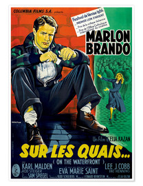 Premium poster  ON THE WATERFRONT, (SUR LES QUAIS), Marlon Brando
