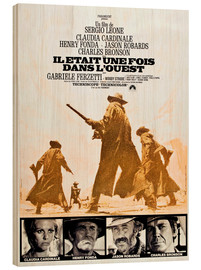 Wood print  Once Upon a Time in the West
