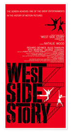 Premium poster  WEST SIDE STORY, Natalie Wood, Richard Beymer, Russ Tamblyn