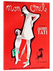 Acrylic print  Mon Oncle (french)