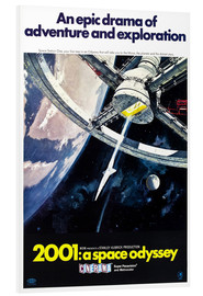 Foam board print  2001: A Space Odyssey