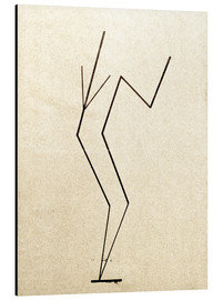 Aluminium print  Analytical drawing after photos of dancing?.. - Wassily Kandinsky