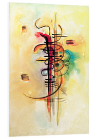 Foam board print  Watercolor no. 326 - Wassily Kandinsky