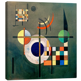 Canvas print  Counterweights - Wassily Kandinsky