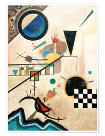 Premium poster  Contrasting sounds - Wassily Kandinsky