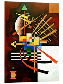 Acrylic print  Top and left - Wassily Kandinsky