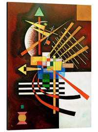 Aluminium print  Top and left - Wassily Kandinsky