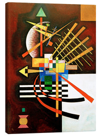 Canvas  Top and Left - Wassily Kandinsky
