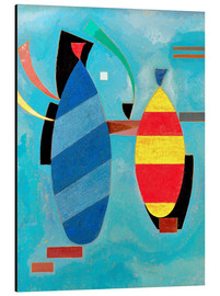 Aluminium print  Both striped - Wassily Kandinsky