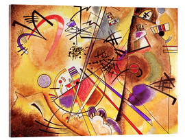 Acrylic print  Small dream in red - Wassily Kandinsky