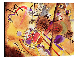 Aluminium print  Small dream in red - Wassily Kandinsky