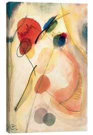 Canvas print  Untitled - Wassily Kandinsky
