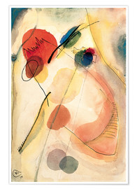 Premium poster  Untitled - Wassily Kandinsky