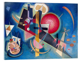 Acrylic print  In the blue - Wassily Kandinsky