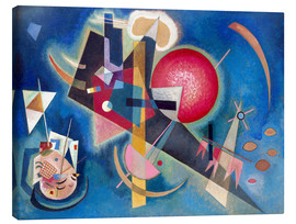 Canvas  In the blue - Wassily Kandinsky