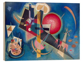 Wood print  In the blue - Wassily Kandinsky