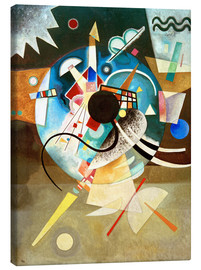 Canvas  A centre - Wassily Kandinsky