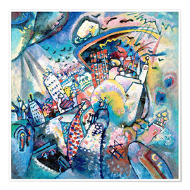 Premium poster  Red square - Wassily Kandinsky