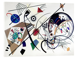 Acrylic print  Continuous line - Wassily Kandinsky