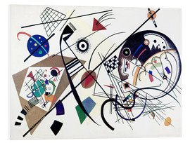 Foam board print  Continuous line - Wassily Kandinsky