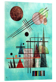 Acrylic print  Across and Up - Wassily Kandinsky