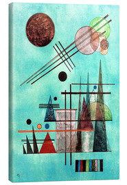 Canvas print  Across and Up - Wassily Kandinsky