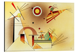 Aluminium print  Reduced weight - Wassily Kandinsky