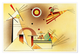 Premium poster  Reduced weight - Wassily Kandinsky