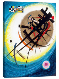 Canvas print  In the bright oval - Wassily Kandinsky