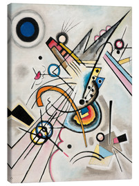 Canvas  Diagonal - Wassily Kandinsky