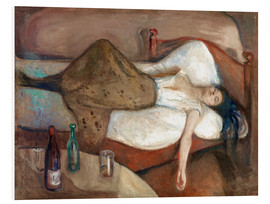 Foam board print  The day after - Edvard Munch