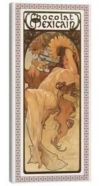 Canvas print  Chocolat Mexicain, Autumn - Alfons Mucha
