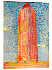 Acrylic print  Lighthouse in Westkapelle - Piet Mondrian