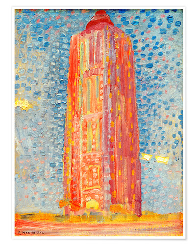 Premium poster Lighthouse in Westkapelle