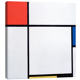 Canvas print  Composition Red, Blue, Yellow, Black - Piet Mondriaan