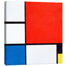 Canvas print  Composition II - Piet Mondrian