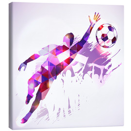 Canvas  Soccer Goalkeeper - TAlex