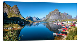 Canvas  Summer on Lofoten Islands - Sascha Kilmer