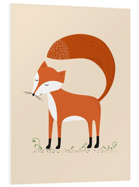 Foam board print  Fox - Sandy Lohß