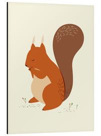 Aluminium print  Squirrel - Sandy Lohß