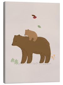 Canvas print  Bears - Sandy Lohß