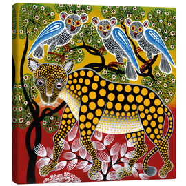 Canvas print  Cheetah in the bush - Mzuguno
