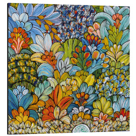 Aluminium print  Colorful foliage - Mzuguno