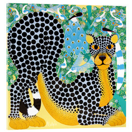 Acrylic print  Delicate Leopard - Mustapha