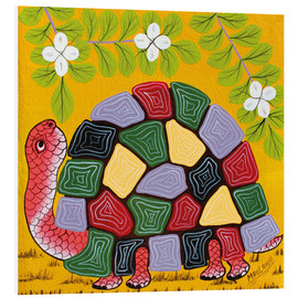 Foam board print  Magnificent turtle - Maulana