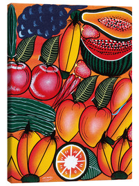 Canvas print  Exotic Fruits All kinds of - Chilambo