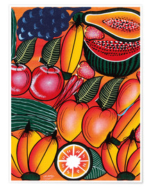 Premium poster  Exotic Fruits All kinds of - Chilambo