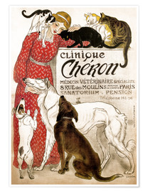Premium poster Clinique Cheron